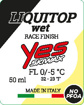 Bild von LiquiTop no PFOA race finish yellow wet black